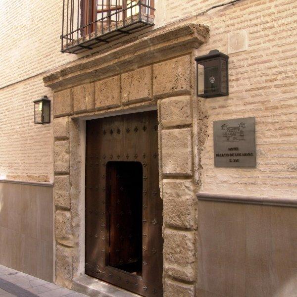 Entrada Palacio de los Navas