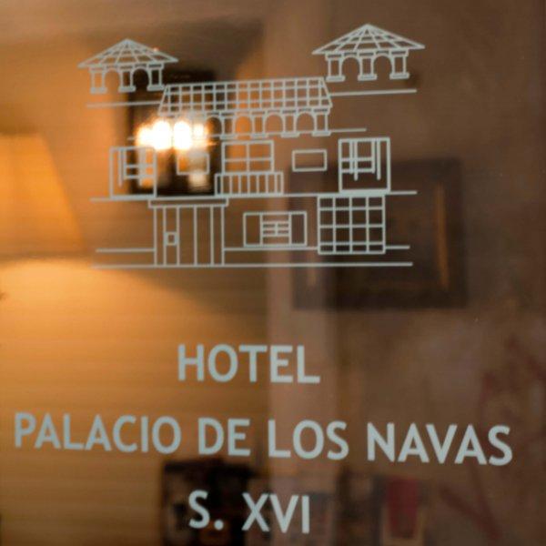Placa Palacio de los Navas